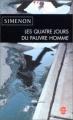 Couverture Les quatre jours du pauvre homme Editions Le Livre de Poche 2003