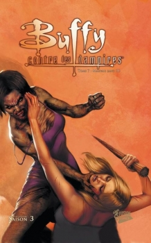Couverture Buffy contre les Vampires Saison 03, tome 07 : Mauvais Sang partie 1