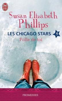 Couverture Les Chicago Stars, tome 5 : Folle de toi