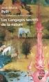 Couverture Les langages secrets de la nature Editions Le Livre de Poche 1996