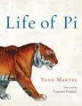Couverture L'histoire de Pi Editions Harcourt 2007