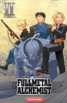 Couverture Fullmetal Alchemist, édition reliée, tome 02