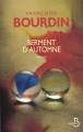 Couverture Serment d'automne Editions Belfond 2012