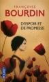 Couverture D'espoir et de promesse Editions Pocket 2012