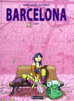 Couverture Barcelona, tome 1 : Cyan