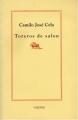 Couverture Toreros de salon Editions Verdier (Faenas) 1989