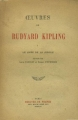 Couverture Le livre de la jungle Editions Mercure de France 1946