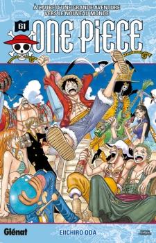 Couverture One Piece, tome 61 : A l'aube d'une grande aventure vers le nouveau monde