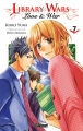 Couverture Library Wars : Love and War, tome 07 Editions Glénat (Shôjo) 2012