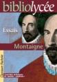 Couverture Les essais / Essais Editions Hachette (Biblio lycée) 2004