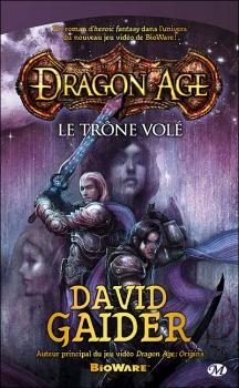 Couverture Dragon Age, tome 1 : Le Trône volé