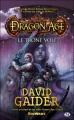Couverture Dragon Age, tome 1 : Le Trône volé Editions Milady 2009