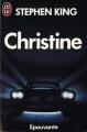 Couverture Christine Editions J'ai Lu (Epouvante) 1993