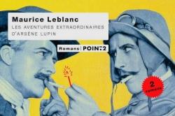 Couverture Les aventures extraordinaires d'Arsène Lupin : L'Aiguille creuse, Le Bouchon de cristal