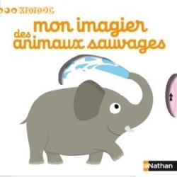 Couverture Mon imagier des animaux sauvages