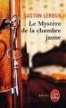 Couverture Le mystère de la chambre jaune Editions Le Livre de Poche (Policier) 1974