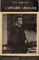 Couverture L'affaire Lerouge Editions La Bruyère (Select-Univers (Angoisse)) 1951