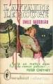 Couverture L'affaire Lerouge Editions Marabout 1957