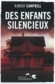 Couverture Des enfants silencieux Editions Télémaque 2012