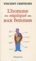 Couverture L'homme expliqué aux femmes Editions Flammarion 2010