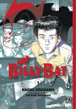 Couverture Billy Bat, tome 01