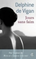 Couverture Jours sans faim Editions J'ai lu 2009