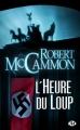 Couverture L'Heure du Loup Editions Milady (Terreur) 2011