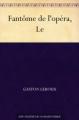 Couverture Le fantôme de l'opéra Editions Norph-Nop 2012