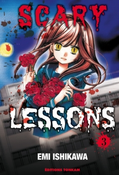 Couverture Scary Lessons, tome 03