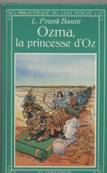 Couverture Ozma, la princesse d'Oz