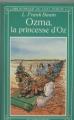 Couverture Ozma, la princesse d'Oz Editions Flammarion (Bibliothèque du chat perché) 1982