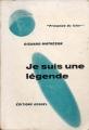 Couverture Je suis une légende Editions Denoël (Présence du futur) 1955