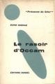 Couverture Le Rasoir d'Occam Editions Denoël (Présence du futur) 1960