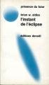 Couverture L'Instant de l'éclipse Editions Denoël (Présence du futur) 1973