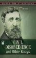 Couverture La désobéissance civile Editions Dover Publications 1993