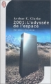 Couverture 2001 : L'odyssée de l'espace Editions J'ai lu (Science-fiction) 2000