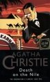 Couverture Mort sur le Nil Editions HarperCollins 1997