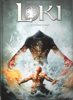 Couverture Loki, tome 1 : Le feu sous la glace