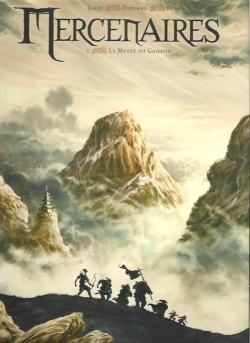 Couverture Mercenaires, tome 1 : La Meute du Griffon