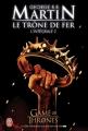 Couverture Le trône de fer, intégrale, tome 2 Editions J'ai Lu 2012