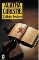 Couverture L'Affaire Protheroe Editions Le Livre de Poche 1932