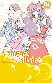 Couverture Princess Jellyfish, tome 04