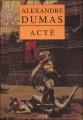 Couverture Acté Editions Arléa 2006