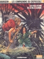 Couverture Les Compagnons du crépuscule, tome 2 : Les yeux d'étain de la ville glauque Editions Casterman (Un auteur (A suivre)) 1986