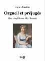 Couverture Orgueil et préjugés Editions Bibliothèque Electronique du Québec 2011
