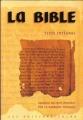 Couverture La Bible Editions Colbo 2010