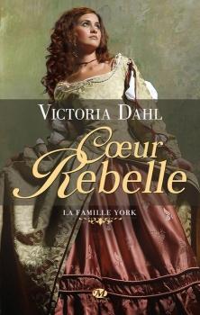 Couverture La Famille York, tome 1 : Coeur rebelle