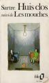 Couverture Huis clos suivi de Les mouches Editions Folio  1984