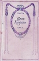 Couverture Anna Karénine, tome 1 Editions Nelson 1933