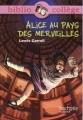Couverture Alice au pays des merveilles / Les aventures d'Alice au pays des merveilles Editions Hachette (Biblio collège) 2009